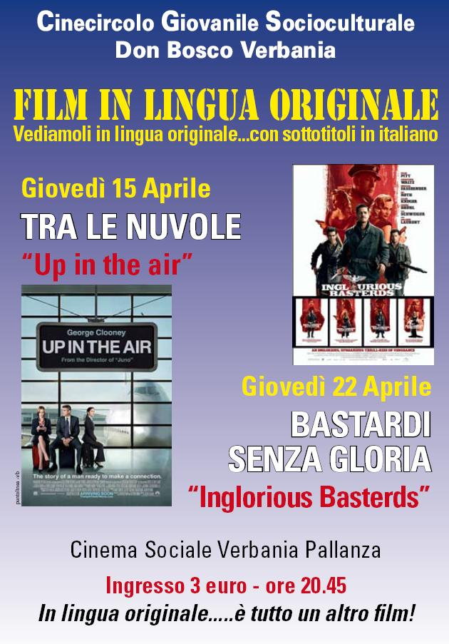 FILM IN LINGUA ORIGINALE